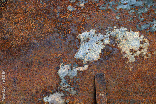 canvas print picture Rost abstrakt