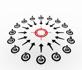 Symbol target