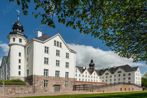 Leinwanddruck Bild Plöner Schloss