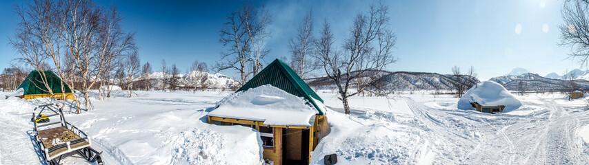 Nalychevo Nature Park. Kamchatka, Russia