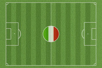 Fussballfeld Italien