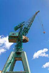 Green Harbour Crane