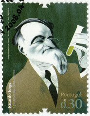 PORTUGAL - 2008: shows Ricardo Jorge (1858-1939), doctor