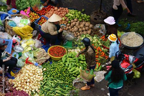 Fotobehang Overige outdoor farmers market
