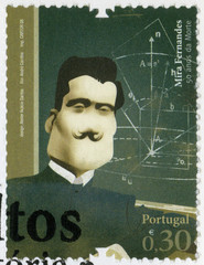 PORTUGAL - 2008: shows Mira Fernandes (1884-1958), mathematician