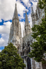 Votive Church in Vienna, Capital of Austria