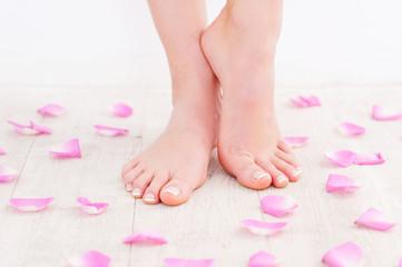 Fresh and clean feet.