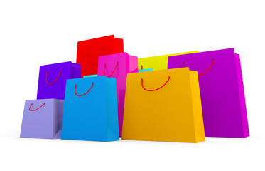 selection of different types of shopping bags