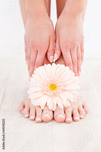 Beautiful feet.