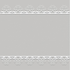 Cute vector Straight lace
