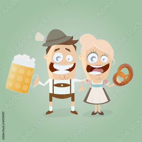 """bayern dirndl lederhose bier breze"" stockfotos und"