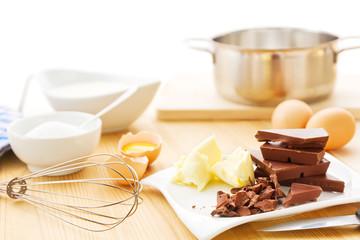 Mousse au Chocolat Zutaten