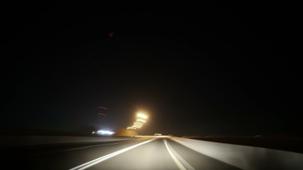 road trip 4k time lapse from al ain to dubai