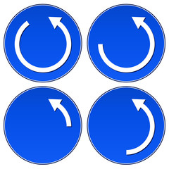 Circular Arrows concept  vector, graphics