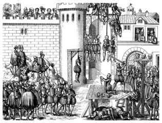 Death Penalties - Mises à Mort - 16th century