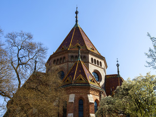 Budapest, Hungary. Calvinist Reformed Church
