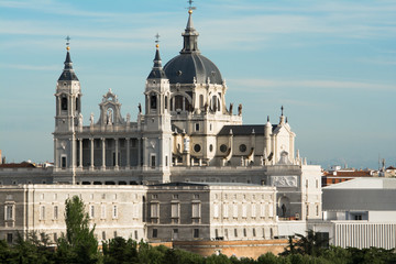 Almudena Cathedral, Madrid (Spain)