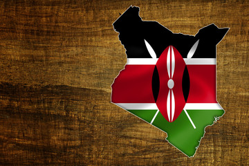 Kenya Map Design