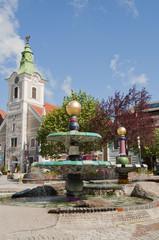 Hundertwasserbrunnen Zwettl