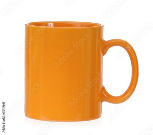 Orange mug - 64549661