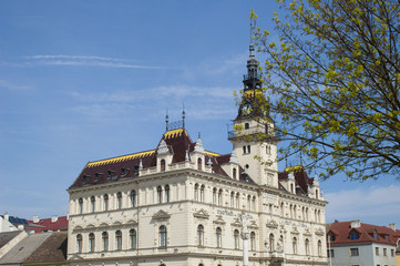 Rathaus Laa an der Thaya Seitenansicht
