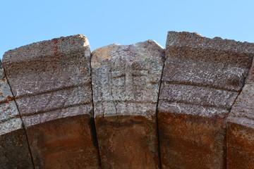 kaya üzerinde hac işareti