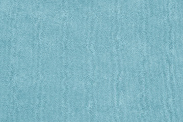aqua color  terry cloth