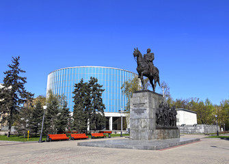 Monument of Russian military leader Mikhail Kutuzov