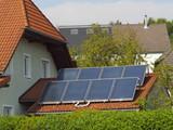 Sonnenenergie-Tankstelle