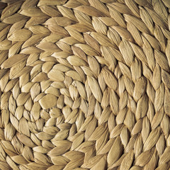 Wicker woven pattern for background or texture