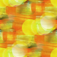 bokeh colorful pattern yellow, green water texture paint abstrac