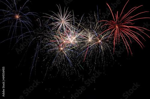 Foto op Canvas Uitvoering Fireworks