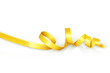 Yellow curled ribbon party