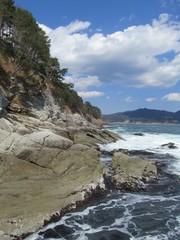 四十八坂海岸の景観