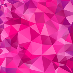 Background with magenta triangles