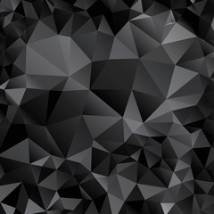 Background with black and gray triangles