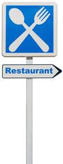 "panneau ""restaurant"""