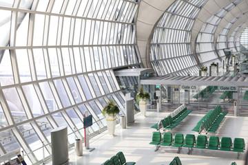 The main concourse of Suvarnabhumi Airport