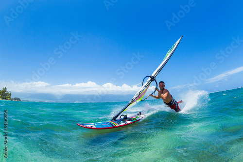 fototapeta na ścianę Windsurfing
