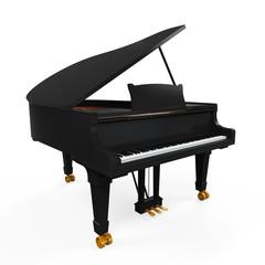 Grand Piano Isolated