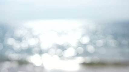 Defocused sea