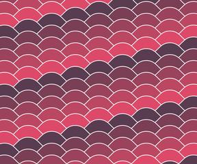 Violet pink vintage wave pattern