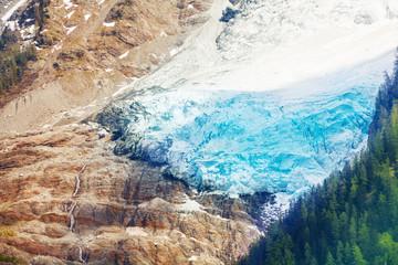 Glacier on Mont Blanc, Alps