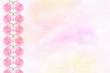 light pink floral background of gypsophila paniculata