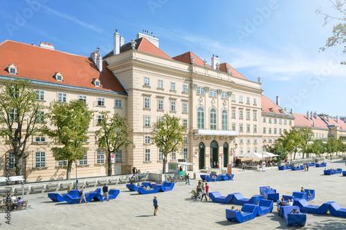 Aluminium Wenen Museumsquartier Vienna, Austria