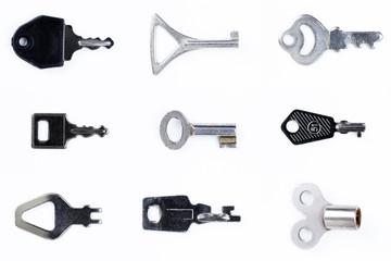 Schlüssel aufgelegt 3