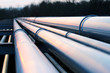 pipes in crude oil factory - 64568035