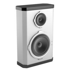 realistic 3d render of loudspeaker