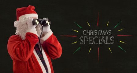 Father Christmas Business Specials Promotion