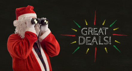 Father Christmas Great Deals Promotion